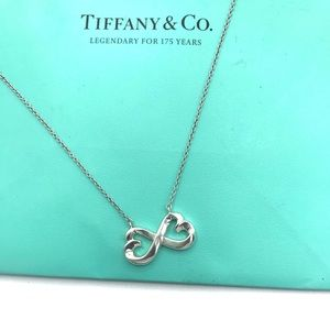 Authentic TIFFANY & Co Loving Heart Necklace